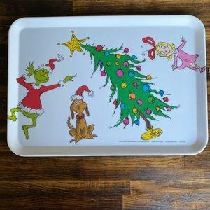 Grinch tray 13.38 x 9.37x .59in